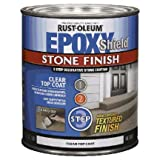 51%2ByxBfu5GL. SL160  Rust oleum 245755 Epoxy Shield Stone Finish Clear Coat Sealer   Step 3 (Pack of 2)