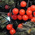 160 Red Berry LED Christmas Lights Indoor / Outdoor