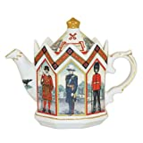 James Sadler Tower of London Teapot, Fine China