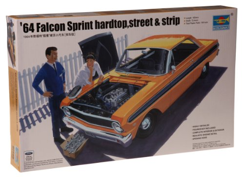 Trumpeter 1/25 1964 Street/Strip Versions Ford Falcon Sprint Hardtop