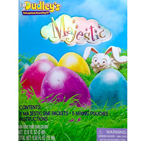 Dudleys Eggceptional Decorating Kit Majestic Egg Dye Kit Easter 2015 - 1