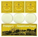 Geo F Trumper Sandalwood Hand Soap (3 x 75 g)