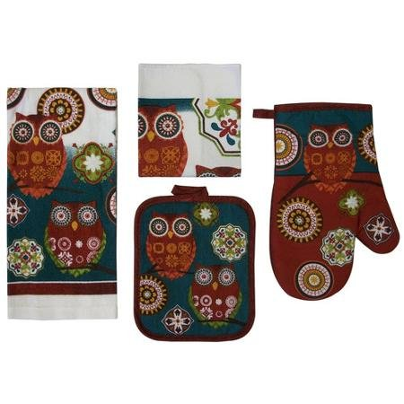 Mainstays  Piece Kitchen Set Owl