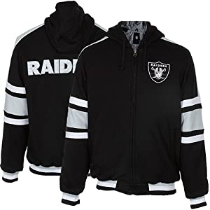 NFL Oakland Raiders Zip up Hoodie by NFL