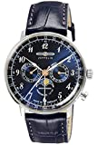 [ツェッペリン]ZEPPELIN 腕時計 Hindenburg ネイビー文字盤 7036-3 メンズ 【並行輸入品】