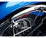 Saddlemen Metric Cruiser Universal Saddlebag Support Brackets – –/– by Leather Factory Outlet