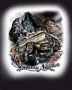 "Amazon.com: Fantasy Night 8"" x 10"" Lowrider Poster Print"