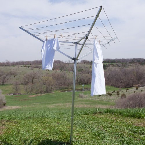 Outdoor Clothes Dryer Rack front-127674