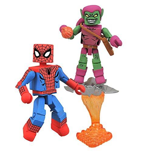 Marvel Minimates Greatest Hits Wave 1 Spider-Man & Green Goblin 2 Pack (Marvel Minimates Green Goblin compare prices)