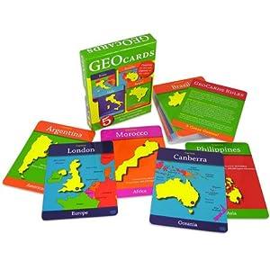 GEOTOYS GEO-116 GeoCards World