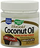 Nature&#39;s Way Organic Extra Virgin Coconut Oil, 16 Ounce