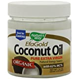 Nature's Way Organic Extra Virgin Coconut Oil, 16 Ounce ~ Nature's Way