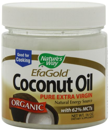 Nature s Way Organic Extra Virgin Coconut Oil, 16 Ounce