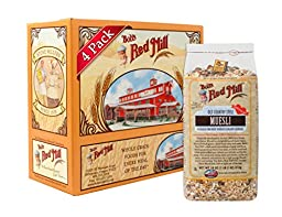 Bob\'s Red Mill Old Country Style Muesli Cereal, 18-ounce (Pack of 4)