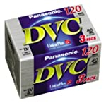 Panasonic 1x3 AY-DVM80FE Mini DV Tape...