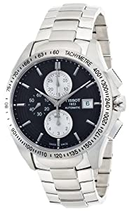 Tissot Men's Velco-T Chronograph Dial Watch Black T0244271105100
