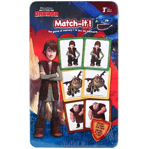 How to Train Your Dragon - Match-it! Memory Game - 1