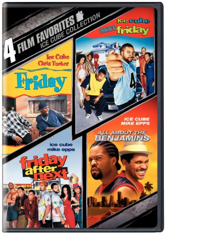 4 Film Favorites: Ice Cube (All About the Benjamins, Friday, Next Friday, Friday After Next) (Friday Movie Ice Cube compare prices)