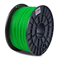 BuMat PLA 1.75mm, 1kg, 2.2lb Translucent Green Filament Printing Material Supply Spool for 3D Printer PLATG from BuMat