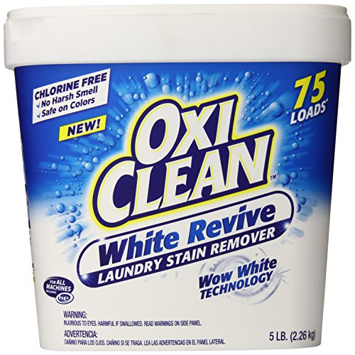 Oxiclean White Revive Powder, 5 Pound (Oxy Clean Laundry White compare prices)