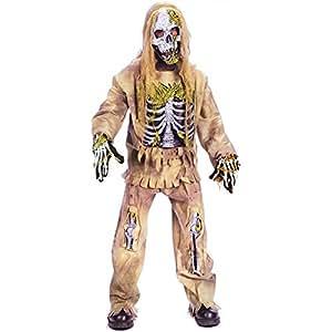 Official Costumes Skeleton Zombie Costume Medium