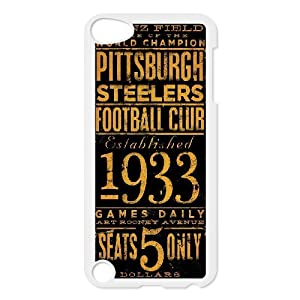 Diy Cutstomize Pittsburgh Steelers case for ipod touch 5 LIULAOSHI(TM) at SteelerMania