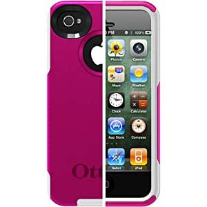OtterBox Commuter Series Case for iPhone 4/4S-Retail Packaging-Hot Pink/White (Discontinued by Manufacturer)