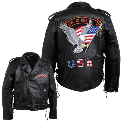 Pebble Leather Moto Jacket-2X