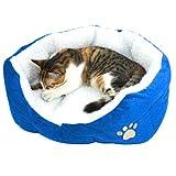 Bomien Hundebett Hundekissen Hundesofa Katzenbett Einzigartiges Luxus-Warm Indoor weiches Tierbett