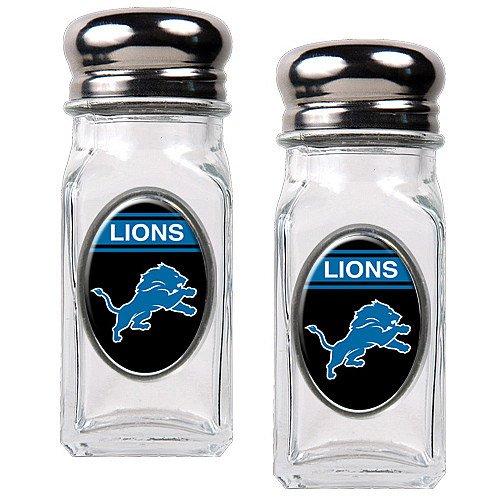 Nfl Detroit Lions Salt And Pepper Shaker Set With Crystal Coat