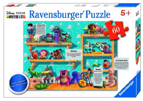 Ravensburger Disney Pixar: On The Toy Shelf Flap Puzzle (60-Piece)
