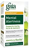 Gaia Herbs Mental Alertness, 60-capsule Bottle