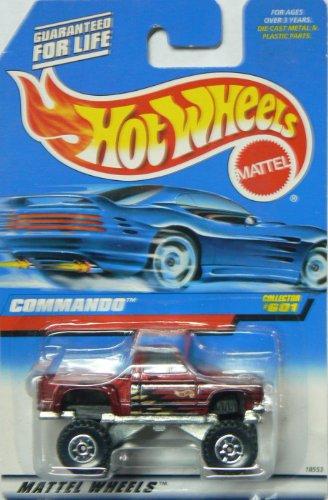 Hot Wheels Commando Truck #601 Alternate Card - 1