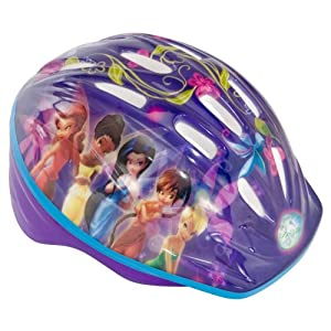 Disney Fairies Lighted Mico Bicycle Helmet (Child)