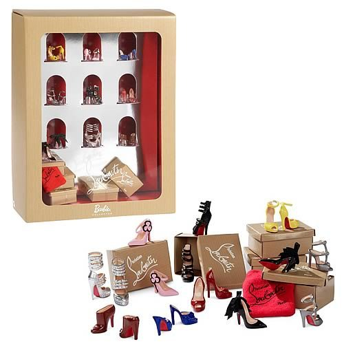 Review for Barbie Collector Christian Louboutin Shoe Pack
