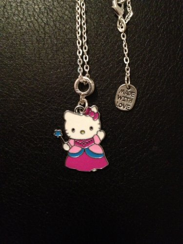 Divine Beads: Childs Pink Hello kitty necklace,