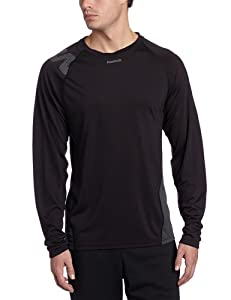 Reebok - Zig Loose Ls Mens Shirt In Black, Size: X-Large, Color: Black