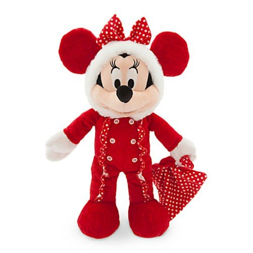 """Disney Minnie Mouse Holiday Plush for Baby – Small – 15"""""""