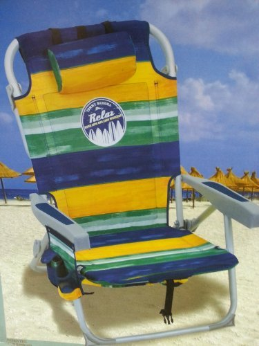 Tommy Bahama Blue/yellow/green 2014 Backpack Cooler Chair