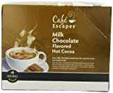Caf Escapes Hot Cocoa, Milk Chocolate, K-Cup Portion Pack for Keurig Brewers, 24-Count