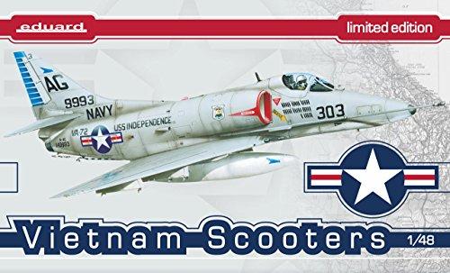 エデュアルド 1/48 リミテッドエディション ベトナム・スクーターズ A-4スカイホーク