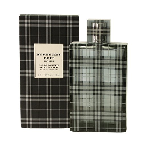 Burberry Brit Eau De Toilette Spray for Men, 100ml