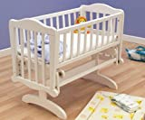 Saplings Glider Crib (White)