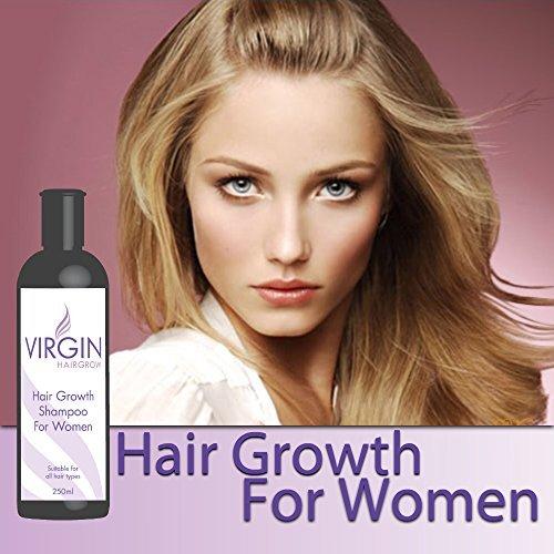 virgin f r frauen haarausfall shampoo lang wachsen dickes hochglanzhaaranti bald women. Black Bedroom Furniture Sets. Home Design Ideas