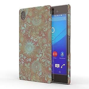 Koveru Back Cover Case for Sony XPERIA M4 Aqua - Damask print