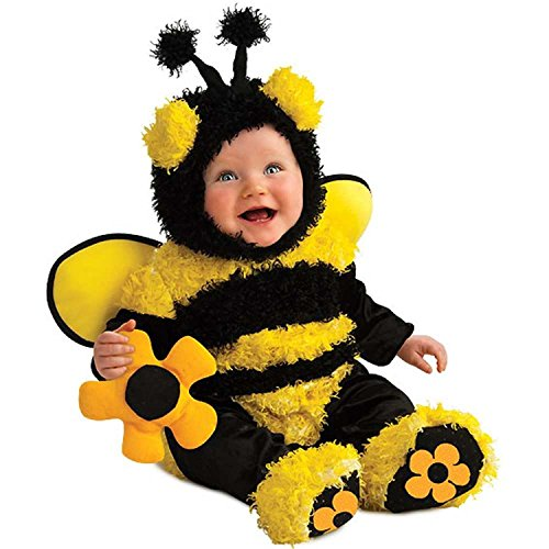 Buzzy Bee Baby Costume (6-12 Months) back-500595
