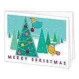 Amazon Gift Card - Print - Merry Christmas (Birds)