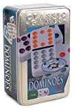 Cardinal Double 12 Color Dot Dominoes in Collectors Tin (Styles May Vary)