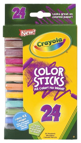 Crayola 24ct Color Sticks - 1