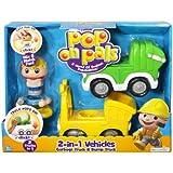 Pop On Pals - Trash/Construction Play Set